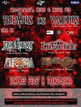 Concert THEATRES DES VAMPIRES in Cluj-Napoca
