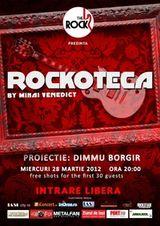 Proiectie DIMMU BORGIR la rockotecka din The Rock Iasi