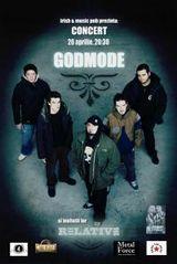 Godmode concerteaza la Cluj-Napoca