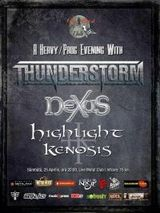 Thunderstorm si Nexus in Live Metal Club