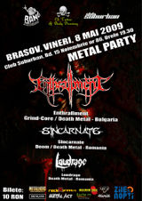 Enthrallment, Sincarnate si Loudrage canta in Brasov