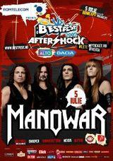 Concert Manowar in Romania la BestFest