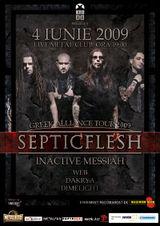 SepticFlesh, Inactive Messiah si W.E.B. concerteaza la Bucuresti