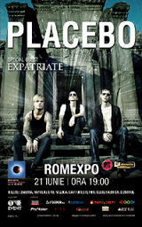 Placebo concerteaza in Romania
