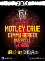 Concert Motley Crue si Dimmu Borgir la OST Fest 2012 la Bucuresti