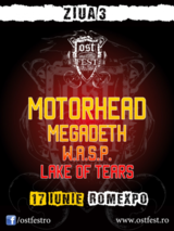 Concert Motorhead si Megadeth la OST Fest 2012