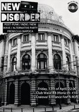 New Disorder party in Club Wave din Craiova
