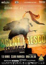 Asiluum Night 3: Concert Agent Fresco si Semiosis in Fabrica