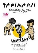 Concert TAPINARII in Legere Live din Bucuresti