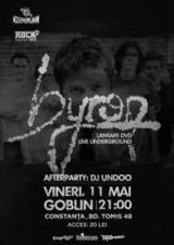 Concert de lansare DVD byron in club Goblin din Constanta