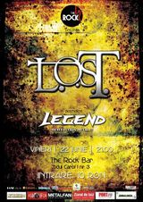 Concert L.O.S.T. si Legend in The Rock Bar din Iasi