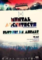 Concert Mental Architects si Fluturi Pe Asfalt in Cluj