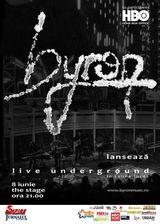 Concert byron in club The Stage Bacau