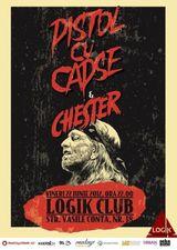 Concert Pistol Cu Capse si Chester in Logik Club