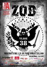 Concert Z.O.B. in Club A din Bucuresti
