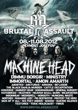 Brutal Assault 2012 in Cehia