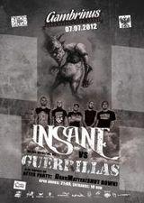 Concert Insane si Guerrillas in Gambrinus Pub din Cluj-Napoca