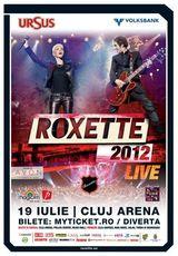 Concert ROXETTE la Cluj-Napoca
