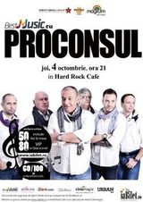 Proconsul: concert in Bucuresti la Hard Rock Cafe