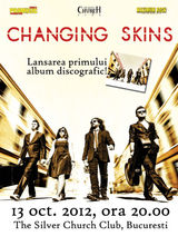 Concert de lansare Changing Skins la Silver Church