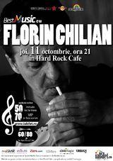Florin Chilian: Concert la Hard Rock Cafe pe 11 octombrie