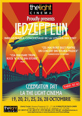 Led Zeppelin - Celebration Day, la The Light Cinema Bucuresti