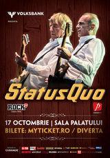 Poze cu Status Quo in concert la Bucuresti!
