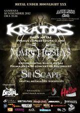 Kratos, Sinscape si Marchosias: Concert la Bucuresti