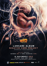 Negative Core Project: Concert lansare album la Bucurest