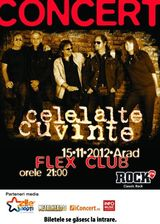 Celelalte Cuvinte: Concert in Arad la club Flex