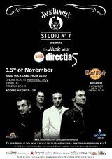 Directia 5: concert la Hard Rock Cafe Bucuresti