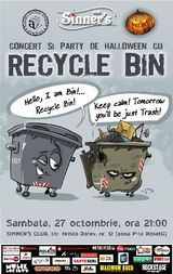Recycle Bin: Concert la Bucuresti