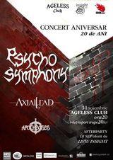 Psycho Symphony: Concert aniversar la Bucuresti