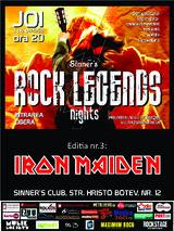 Rock Nights Legends: Iron Maiden - Sinner's Club