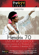 Hendrix 70: Live At Woodstock la The Light Cinema