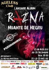 Concert de lansare Razna - Nuante de Negru la Bucuresti