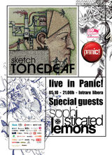 Sketch si Sophisticated Lemons: Concert in club Panic din Bucuresti