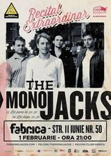 The Mono Jacks: concert in Bucuresti in club Fabrica