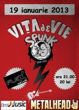 Vita De Vie Spunk Tour 2013: Concert in Arad in club Flex