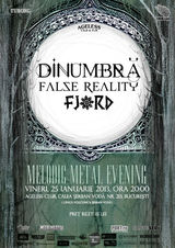 DinUmbra, False Reality si Fjord: Concert la Bucuresti in Ageless Club