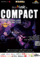 Compact: Concert in Hard Rock Cafe pe 28 februarie