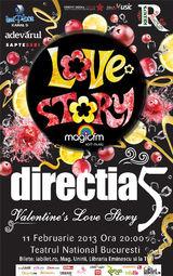 Directia 5: Valentine's Day Love Story la Teatrul National