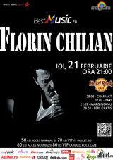 Florin Chilian: Concert in Hard Rock Cafe pe 21 februarie