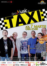 Taxi: Concert in Hard Rock Cafe pe 7 martie