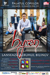 Concert de lansare album Byron la Timisoara