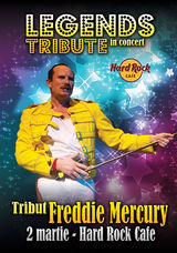 Concert tribut Freddie Mercury la Hard Rock Cafe din Bucuresti