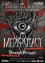 Concert Mediocracy in Club Zodiar din Galati