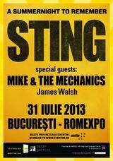 Concert Sting la Romexpo din Bucuresti