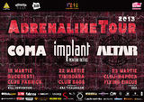 Coma, IPR, Altar si Kill Convention: Concert la Bucuresti in club Fabrica pe 15 martie
