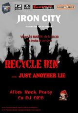 Concert Recycle Bin si Just Another Lie in Iron City